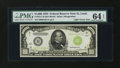 Small Size:Federal Reserve Notes, Fr. 2211-H $1000 1934 Light Green Seal Federal Reserve Note. PMG Choice Uncirculated 64 EPQ.. ...