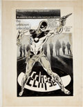 Original Comic Art:Splash Pages, Ronn Foss Eclipse Fanzine Splash Page Original Art(1971)....
