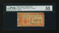 Colonial Notes:New Jersey, New Jersey March 25, 1776 £3 PMG About Uncirculated 53....