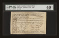 Colonial Notes:South Carolina, South Carolina February 8, 1779 $100 PMG Extremely Fine 40 NET....