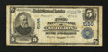 National Bank Notes:Virginia, Abingdon, VA - $5 1902 Plain Back Fr. 606 The First NB Ch. # 5150....