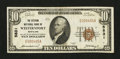 National Bank Notes:Maryland, Westernport, MD - $10 1929 Ty. 1 The Citizens NB Ch. # 5831. ...