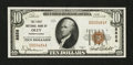 National Bank Notes:Pennsylvania, Oley, PA - $10 1929 Ty. 1 The First NB Ch. # 8858. ...