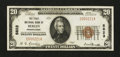 National Bank Notes:Pennsylvania, Berlin, PA - $20 1929 Ty. 1 The First NB Ch. # 5823. ...
