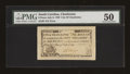 Colonial Notes:South Carolina, South Carolina July 6, 1789 6d City of Charleston PMG AboutUncirculated 50....