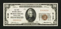 National Bank Notes:Pennsylvania, McKees Rocks, PA - $20 1929 Ty. 1 The First NB Ch. # 5142. ...