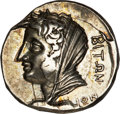 Ancients:Greek, Ancients: Islands off Caria, Kos. Ca. 345-340 B.C. AR didrachm (19mm, 6.97 g, 12 h)....