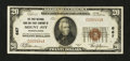 National Bank Notes:Pennsylvania, Mount Joy, PA - $20 1929 Ty. 1 The First NB & TC Ch. # 667. ...