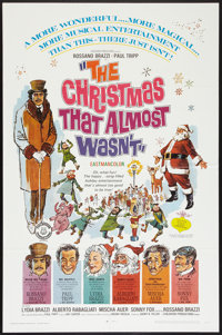 """The Christmas That Almost Wasn't (Childhood Productions, R-1971). One Sheet (27"""" X 41""""). Fantasy"""