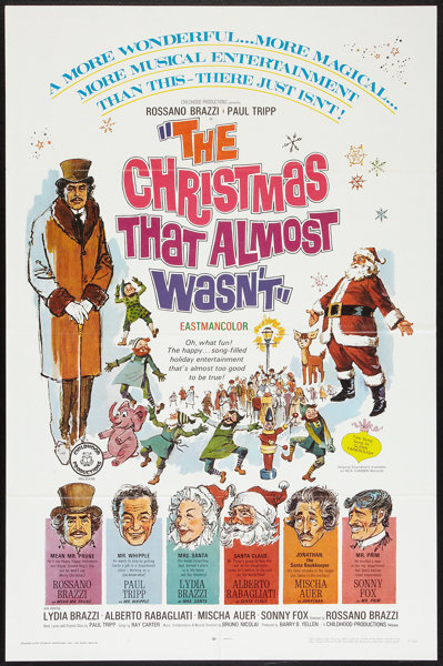 Christmas That Almost Wasn T.The Christmas That Almost Wasn T Childhood Productions R
