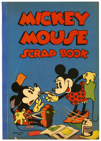 Mickey Mouse Scrap Book #640 (Whitman, c. late 1930s) Apparent
