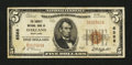 National Bank Notes:Maryland, Oakland, MD - $5 1929 Ty. 1 The Garrett NB Ch. # 6588. ...
