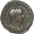 Ancients:Roman Imperial, Ancients: Gordian I Africanus. A.D. 238. AE sestertius (28 mm, 17.43 g, 12 h)....
