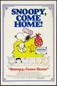 """Snoopy, Come Home! (National General, 1972). One Sheet (27"""" X 41""""). Animation"""