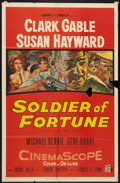 "Movie Posters:Adventure, Soldier of Fortune (20th Century Fox, 1955). One Sheet (27"" X 41"").Adventure.. ..."