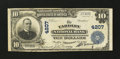 National Bank Notes:Pennsylvania, Yardley, PA - $10 1902 Plain Back Fr. 626 The Yardley NB Ch. #4207. ...