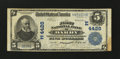 National Bank Notes:Pennsylvania, Darby, PA - $5 1902 Plain Back Fr. 601 The First NB Ch. # (E)4428....