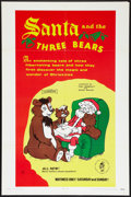 "Movie Posters:Animated, Santa and the Three Bears (Cinetron, 1970). One Sheet (27"" X 41""). Animated.. ..."