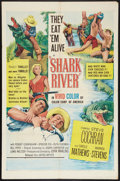 "Movie Posters:Adventure, Shark River (United Artists, 1953). One Sheet (27"" X 41"").Adventure.. ..."