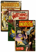 Bronze Age (1970-1979):Horror, Unexpected/ Witching Hour/ Ghosts Group (DC, 1969-77) Condition:Average FN.... (Total: 26 Comic Books)