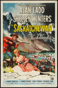 "Movie Posters:Adventure, Saskatchewan (Universal International, 1954). One Sheet (27"" X41""). Adventure.. ..."