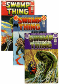 Bronze Age (1970-1979):Horror, Swamp Thing #1-10 Group (DC, 1972-74) Condition: Average FN....(Total: 10 Comic Books)