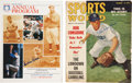 Autographs:Others, Pee Wee Reese Signed Publications Lot of 2....