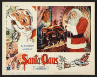 "Santa Claus (K. Gordon Murray , 1960). Lobby Card Set of 8 (11"" X 14""). Children's. ... (Total: 8 Items)"