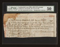 Colonial Notes:Continental Congress Issues, Continental Loan Office Bill of Exchange Second Bill- $24 Feb. 26,1780 Anderson US-96/NJ-7A. PMG About Uncirculated 50....