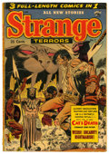 Golden Age (1938-1955):Horror, Strange Terrors #7 (St. John, 1953) Condition: FR....