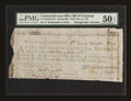 Colonial Notes:Continental Congress Issues, Continental Loan Office Bill of Exchange Second Bill- $120 Nov. 6,1778 Anderson US-100/MA-5A. PMG About Uncirculated 50 EPQ....