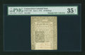 Colonial Notes:Connecticut, Connecticut June 1, 1775 10s Uncancelled PMG Choice Very Fine 35Net....