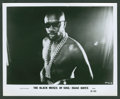 "Movie Posters:Blaxploitation, Isaac Hayes in ""The Black Moses of Soul"" (Aquarius Releasing,1973). Stills (7) (8"" X 10""). Blaxploitation.. ... (Total: 7 Items)"