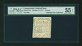 Colonial Notes:Connecticut, Connecticut October 11, 1777 3d PMG About Uncirculated 55 EPQ....