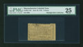 Colonial Notes:Massachusetts, Massachusetts June 18, 1776 5d PMG Very Fine 25....