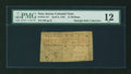 Colonial Notes:New Jersey, New Jersey April 8, 1762 12s PMG Fine 12....