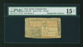 Colonial Notes:New Jersey, New Jersey April 8, 1762 £3 PMG Choice Fine 15 Net....