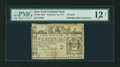 Colonial Notes:New York, New York February 16, 1771 £2 PMG Fine 12 Net....
