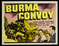 "Movie Posters:War, Burma Convoy (Universal, 1941). Lobby Card Set of 8 (11"" X 14"").War.. ... (Total: 8 Items)"
