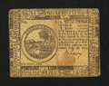 Colonial Notes:Continental Congress Issues, Continental Currency February 26, 1777 $6 Very Fine....
