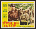 """Movie Posters:War, The Desert Rats Lot (20th Century Fox, 1953). Title Lobby Cards (2)and Lobby Cards (2) (11"""" X 14""""). War.. ... (Total: 4 Items)"""