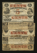 Obsoletes By State:Maryland, Port Deposit, MD- Port Deposit Loan Notes. Six Examples.. ... (Total: 6 notes)