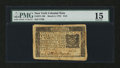 Colonial Notes:New York, New York March 5, 1776 $1/6 PMG Choice Fine 15....