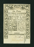 Colonial Notes:Rhode Island, Rhode Island May 1786 6d About New....
