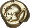 Ancients:Greek, Ancients: Mysia, Kyzikos. Ca. 500-450 B.C. EL stater (18 mm, 16.04 g)....