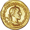 Ancients:Roman Imperial, Ancients: Trajan Decius. A.D. 249-251. AV aureus (20 mm, 4.29 g, 11 h)....