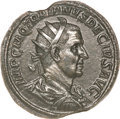 Ancients:Roman Imperial, Ancients: Trajan Decius. A.D. 249-251. AE double sestertius (36 mm, 45.36 g, 12 h)....
