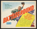"""Movie Posters:War, Battleground Lot (MGM, 1949). Title Lobby Cards (2) (11"""" X 14"""").War.. ... (Total: 2 Items)"""