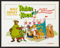 "Movie Posters:Animated, Robin Hood (Buena Vista, 1973). Half Sheet (22"" X 28""). Animated....."