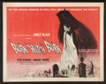 "Movie Posters:Horror, Burn, Witch, Burn! (American International, 1962). Half Sheet (22"" X 28""). Horror.. ..."